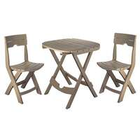 Adams Mfg Quik-Fold 3-Piece Cafe Set Image 1