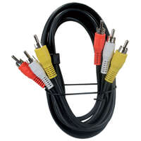 24.0441 - 6' Rca/A-V Triple Cable - Image 1