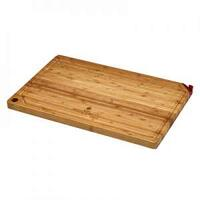 BAMBOO CUTTING BOARD W/KNIFE SHARPENER - FROM FIREDISC