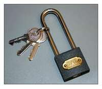 Padlock For X-Chock Image 2