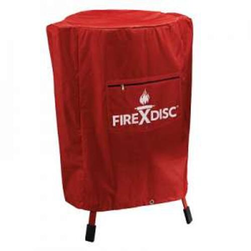FIREDISC COVER FOR 36IN COOKERS - RED
