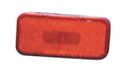 Surface Mount Clearance Lights - Red, Rectangular with Round Corners Image 1