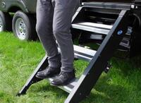 "?Step Above Trailer Steps - 3 Step, 27"" Door"