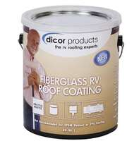 Fiberglass RV Roof Coating By Dicor