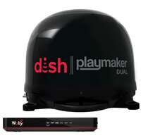Winegard PL8035R Black Dish Playmaker HD Satellite Antenna Dual Receiver Capability Image 2