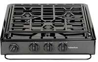 Suburban 3600A 3 Burner Slide-In RV Cooktop Stove Image 1