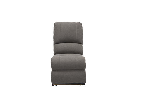 Armless Recliner - Seismic Series (Dunes Grey) Image 1