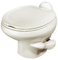 Style II China Toilet, Low Profile, Bone