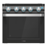 21? Two-in-One Range Oven ? Black Image 1