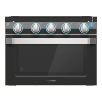 17? Two-in-One Range Oven ? Black Image 1