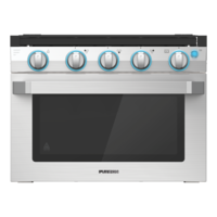 17? Two-in-One Range Oven ? Stainless Steel Image 1