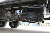Hide-A-Spare,Tire Carrier