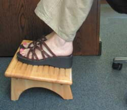 Foot Rest Stool