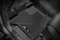 Husky Liners 53341 Black X-act Contour Front Floor Liners Fits 2015-2019 Ford F-150 Image 1