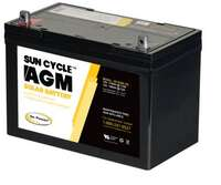 Go Power 100-Amp AGM Solar Battery 12V (GP-AGM-100) Image 1