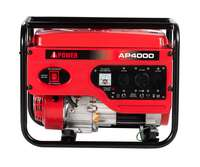 A-iPower AP4000 Gasoline Powered Manual Start Generator Image 1