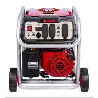 A-iPower SUA4500Watt Portable Generator Gas Powered Wheel Kit Included, Rated Watt/3500 Running, EPA/CARB Complied Image 1