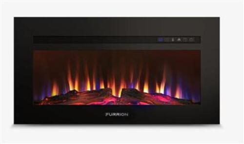 "34"" Furrion Build-in Electric Fireplace with LED flame technology Image 1"