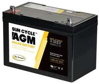 Go Power 12V Sun Cycle AGM Solar Battery Image 1
