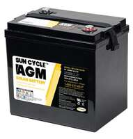 Go Power 6 Volt Sun Cycle AGM Solar Battery Image 1