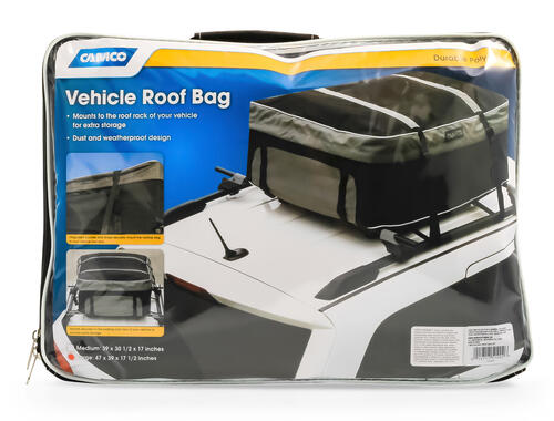 "Rooftop Car Carrier  - Soft, 47"" X 39"" X 17.5,  Large Image 1"