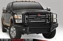 Fab Fours FS11-S2560-1 - Black Steel Front Bumper with Full Grille Guard Image 1