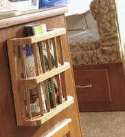 Magazine Rack-Oak