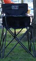 Baby High Chair - Black