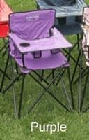 Baby High Chair - Purple