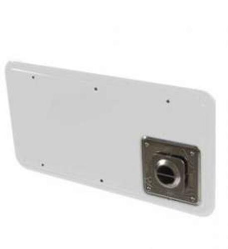 15.3566 - Atwood Medium Furnave Access Door - White - Image 1