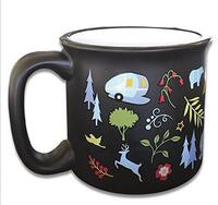 Camp Casual Into The Woods Mug 925-CC004BLK