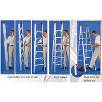 03.1020 - 5 Ft Double Sided Ladder - Image 1