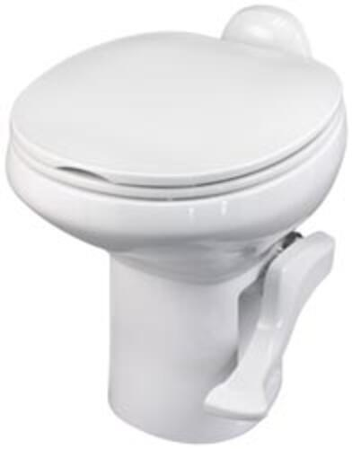 Style II China Toilet, High Profile, White
