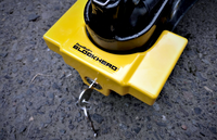 Trailer Coupler Lock - TCL3-YL - Yellow