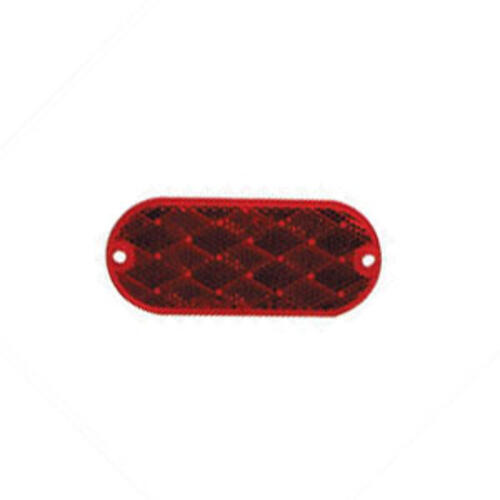 18-0389 - Oblong Reflector Red - Image 1