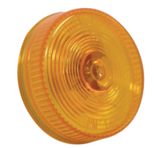 Clearance Light, Amber Round 2-1/2""