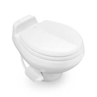 Dometic 511+S Sealand Traveler Toilet - White - with Sprayer