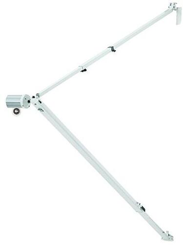 TALL - A&E HARDWARE FOR 8500/9000 AWNINGS-POLAR WHITE STRAIGHT