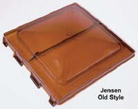 Jensen Old Style Hinge White Vent Lid