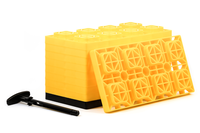 fasten leveling blocks 4x2 yellow