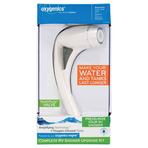 Shower Head Oxygenics White Image 1