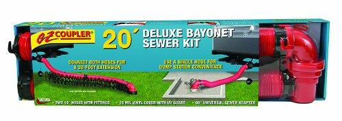 Ez Coupler Deluxe Sewer Kit 20' Image 1