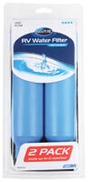 TastePURE KDF/Carbon Water Filters, 2/Clamshell