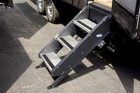 "?Step Above Trailer Steps - 3 Step, 24"" Door"