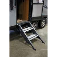 "?Step Above Trailer Steps - 2 Step, 27"" Door"