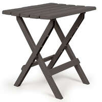 03.0675 - Adirondack Table - Foldable - Charcoal - Plastic - Image 1