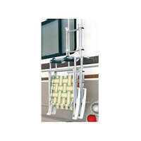 92-1053 - Ladder Mounted Chair Rack - Image 1