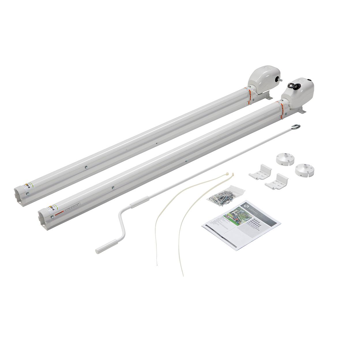 Solera 434728 White 69 Hybrid Universal Awning Hardware Kit