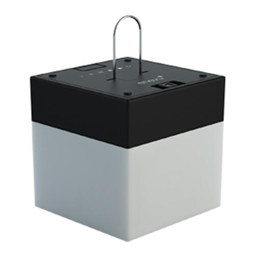 18.2362 - Cube Led Light Black Base - Image 1