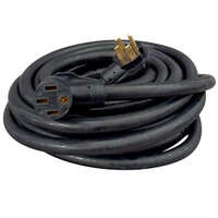 19.2957 - 50a 50' Ext Cord, Black, - Image 1